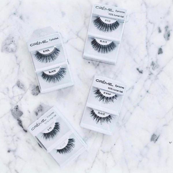 Extend Your Eyes Human Hair Eyelashes Synthetic Eyelashes
